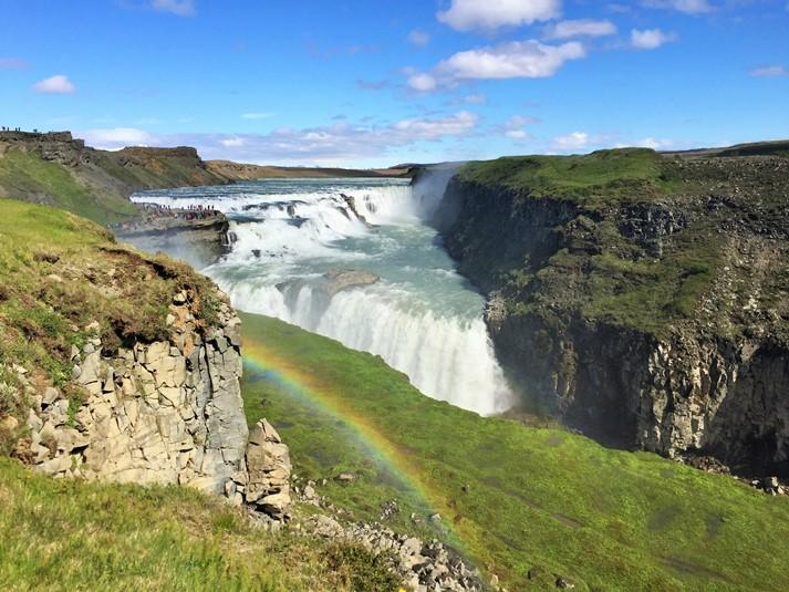 Der Gullfoss auf Island