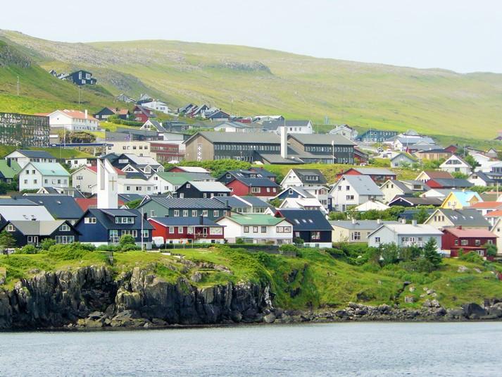 Torshavn, Hauptstadt der Färöer-Inseln