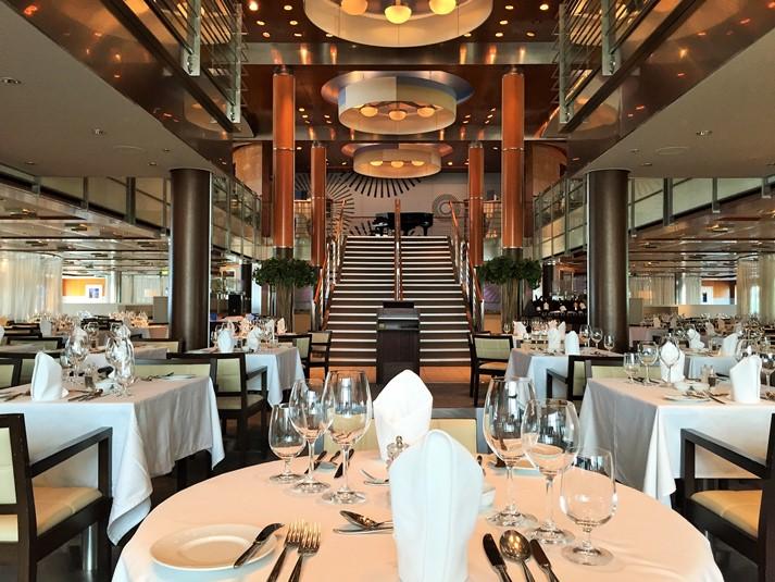 Das klassische 'Atlantik' Haupt-Restaurant