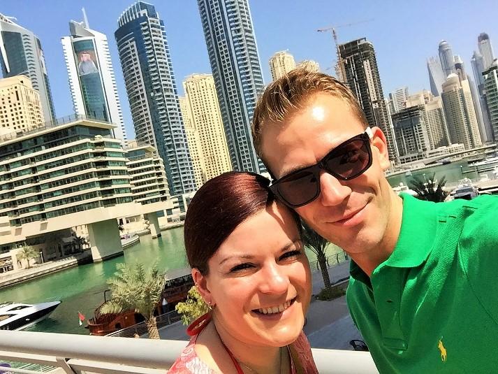 Auf Entdeckungs-Tour in Dubai Marina