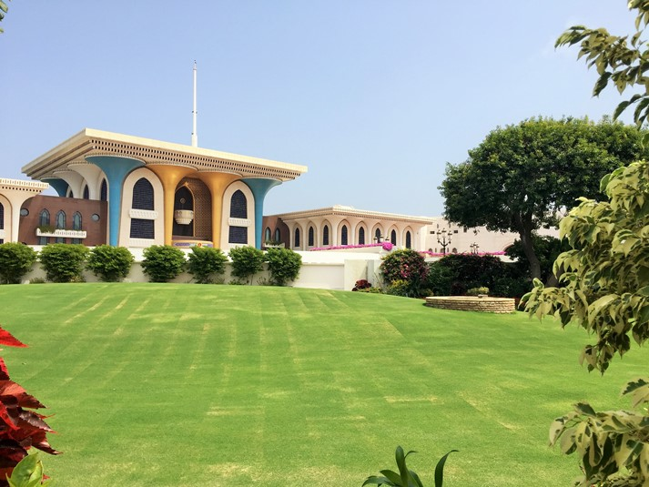Der Palast des Sultan in Muscat, Oman