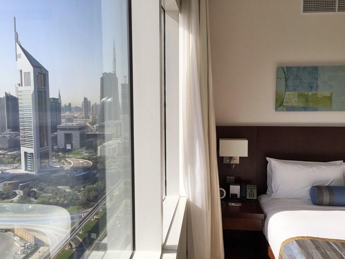 Teil unseres Vorprogrammes: das Radisson Royal Hotel, Dubai