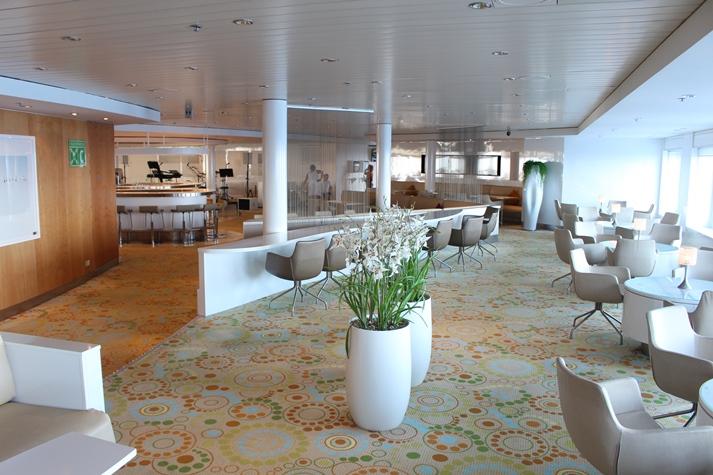 Die beliebte 'Tui-Bar' auf Mein Schiff 1