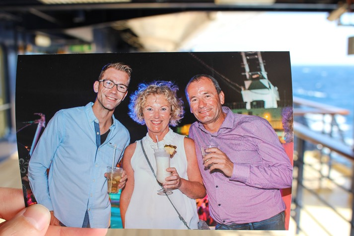 Das Fotogeschenk von Tui Cruises