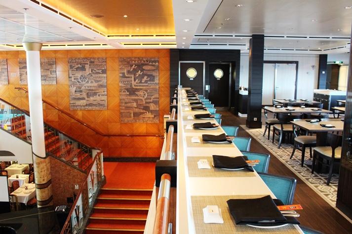 In offener und gemütlicher Atmosphäre: das Ginza Restaurant
