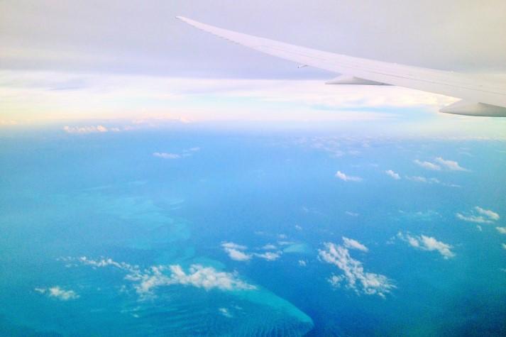 Die Korallenausläufer der Bahamas
