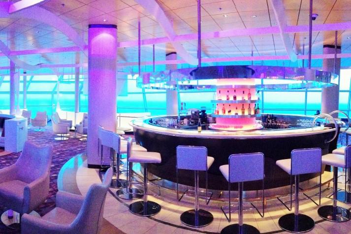 Wie in einem Designhotel: die Sky Oberservation Lounge
