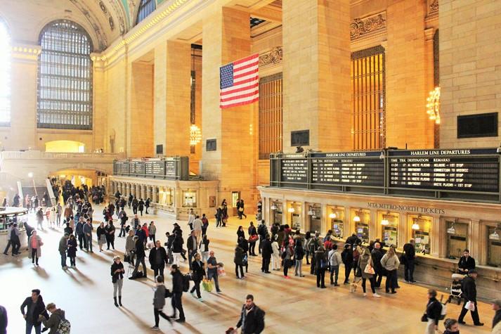 Grand Central Terminal - der größte Bahnhof der Welt