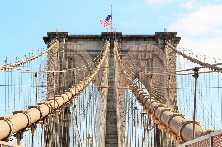Die Brooklyn Bridge ist ein beliebtes Ausflugsziel