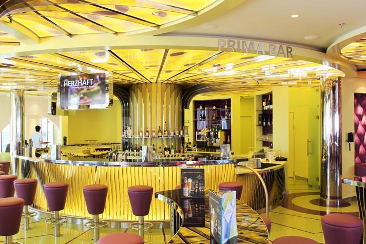Die Prima Bar ist ebenso Teil des Theatriums