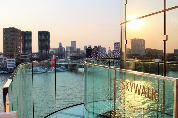 Skywalk Erlebnis auf AIDAprima