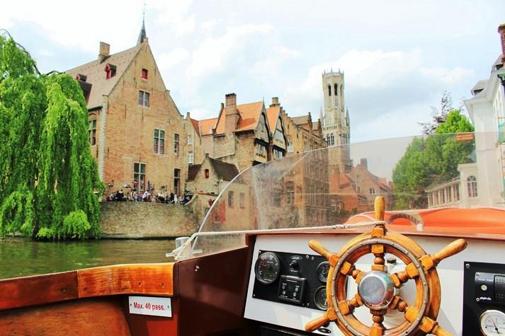 Hübsche Gassen und kleine Kanäle dominieren in Brugge
