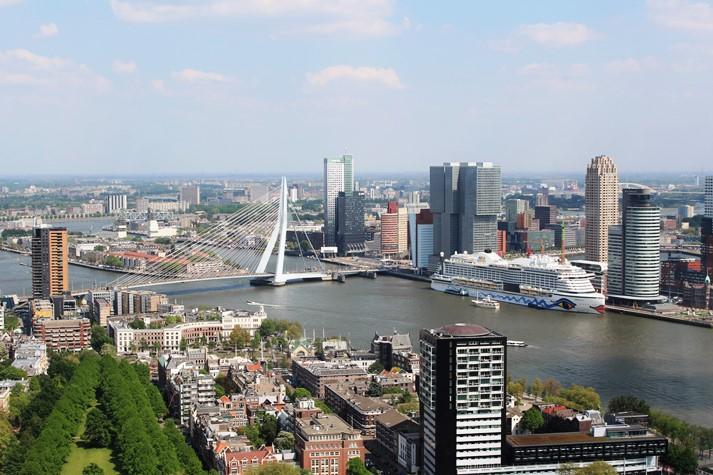 Panoramablick vom Euroturm