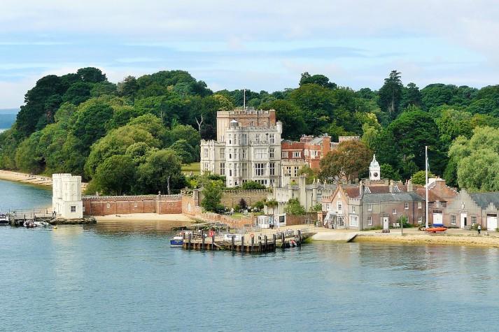 Eine Vielzahl von Schlössern, Burgen und Herrenhäusern sind imCounty Hampshire