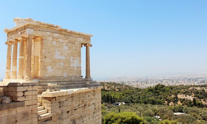 Der Tempel der Athena Nike