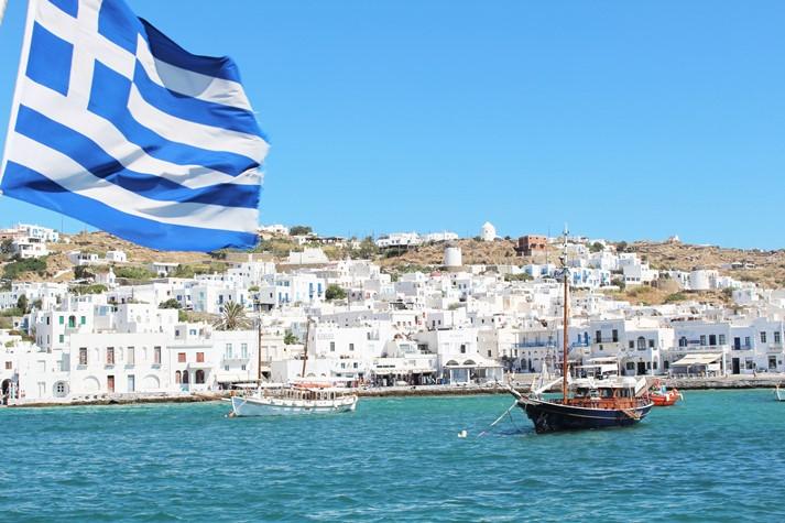 Mykonos ist ein Paradies für für schöne Momente
