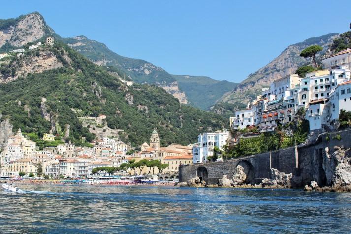 Die Amalfiküste geört zum UNESCO-Weltnaturerbe