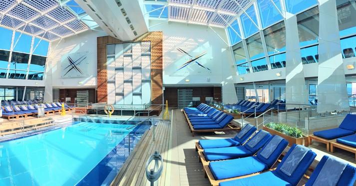 Einfach herrlich und entspannend dieser Indoor-Pool-Bereich