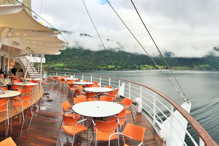Fjordlandschaft mit den engen Fjorden