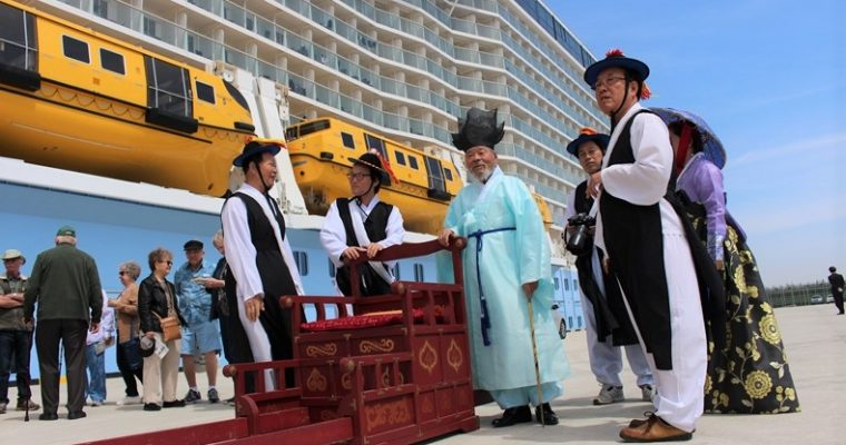 Ovation of the Seas auf Asien Kreuzfahrt