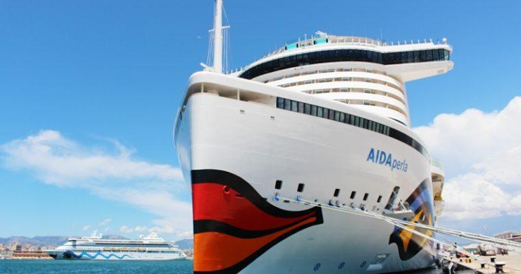 AIDAperla Taufe und Bilder von Bord