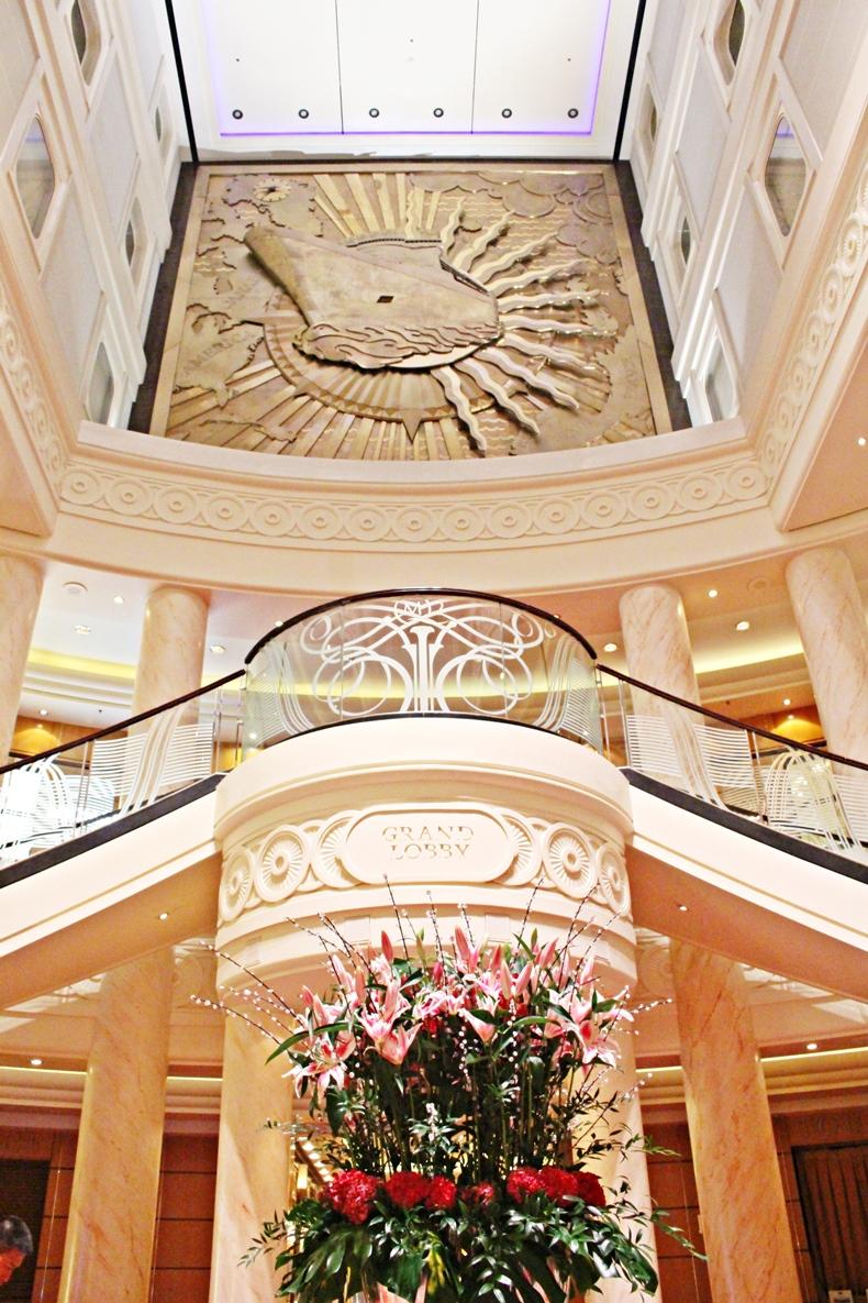 Queen Mary 2 Kurzkreuzfahrt_1_Grand Lobby
