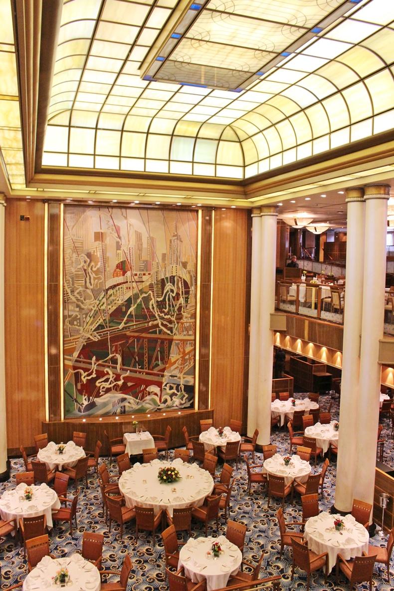 Queen Mary 2 Kurzkreuzfahrt_2_Britannia Restaurant