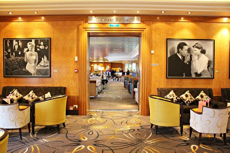 Queen Mary 2 Kurzkreuzfahrt_2_Chart Room