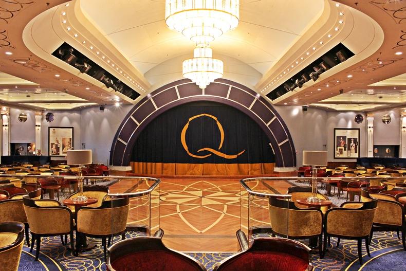 Queen Mary 2 Kurzkreuzfahrt_2_Queens Room