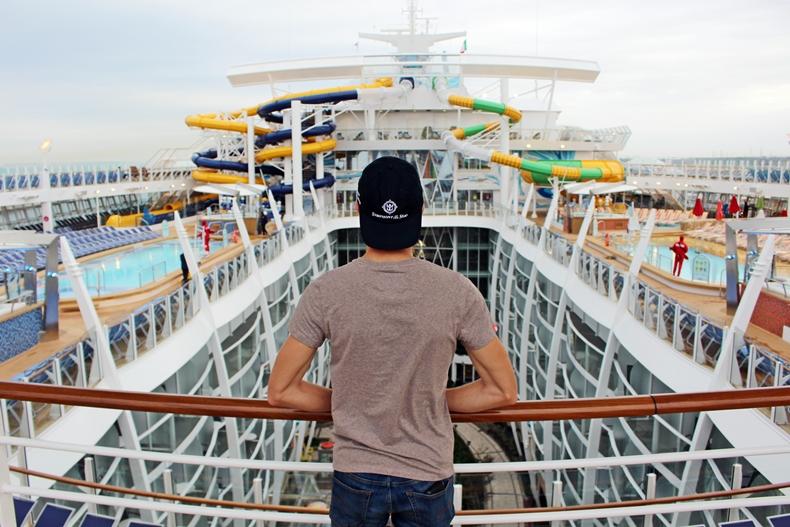 Mein Erlebnis an Bord der Symphony of the Seas ab Barcelona