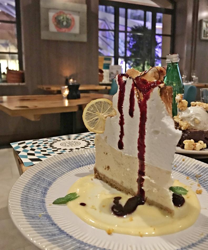 Einsame Spitze: der Amalfi Lemon Cheesecake