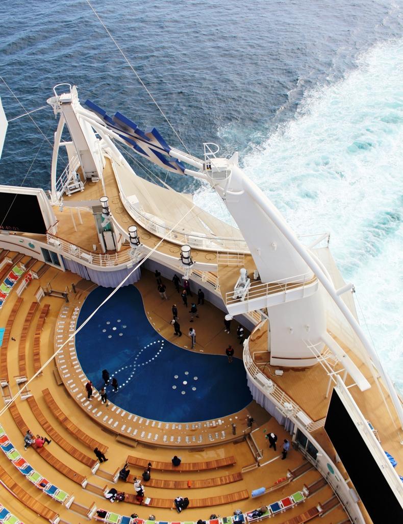 Kulisse für die grandiose Shows: das Aqua Theatre